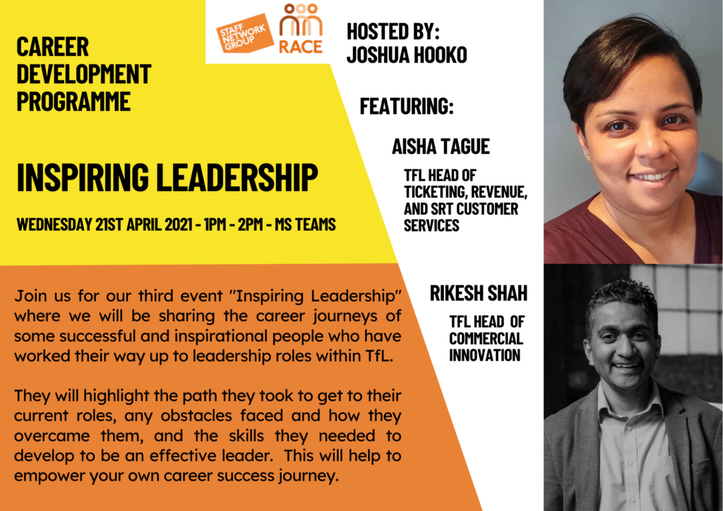 Career development programme - Inspiring Leadership